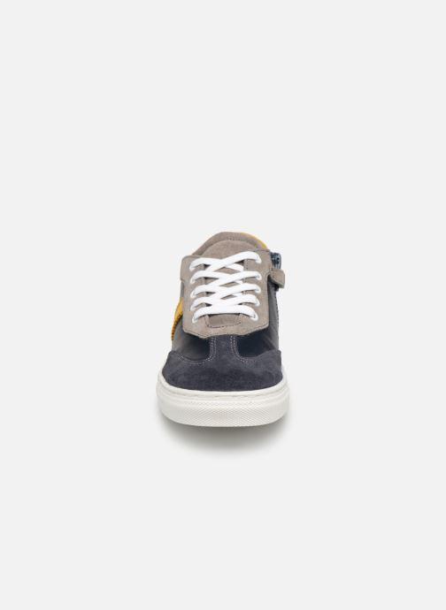 Baskets I Love Shoes Solizel Leather Bleu vue portées chaussures