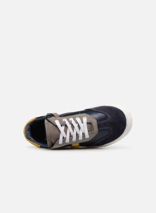 Baskets I Love Shoes Solizel Leather Bleu vue gauche