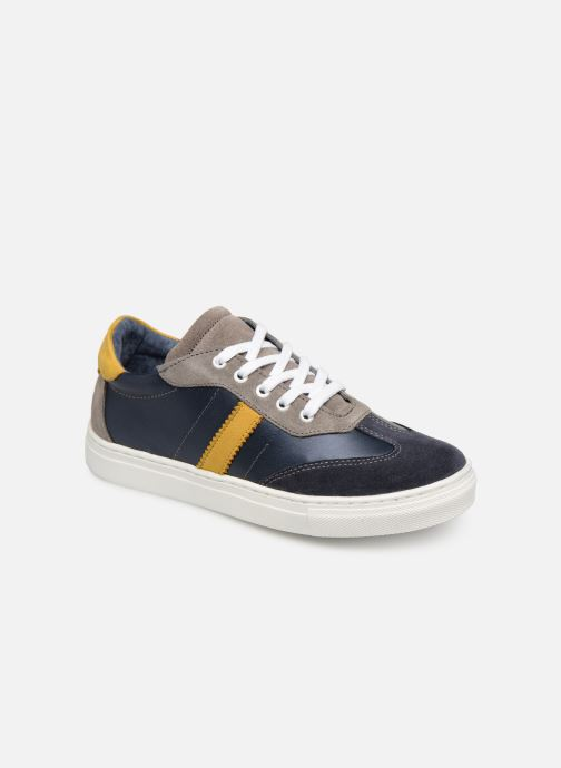 Baskets I Love Shoes Solizel Leather Bleu vue détail/paire