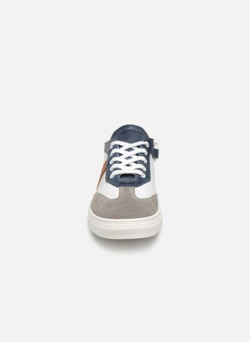 Baskets I Love Shoes Solizel Leather Blanc vue portées chaussures