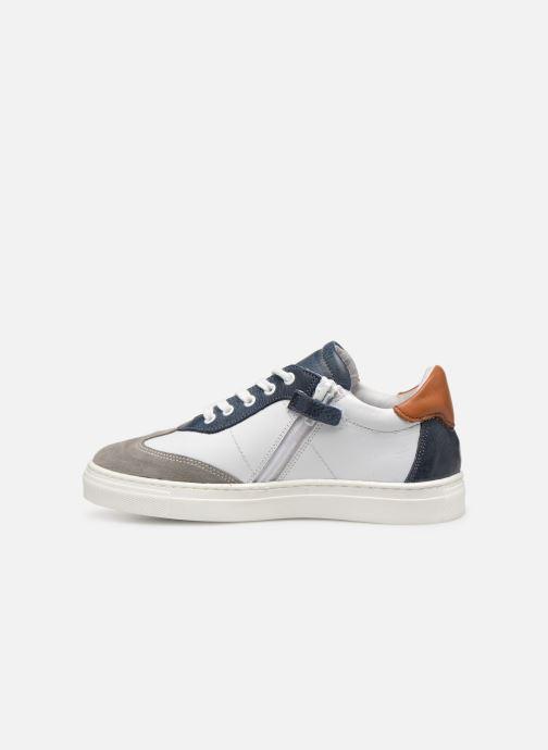 Baskets I Love Shoes Solizel Leather Blanc vue face