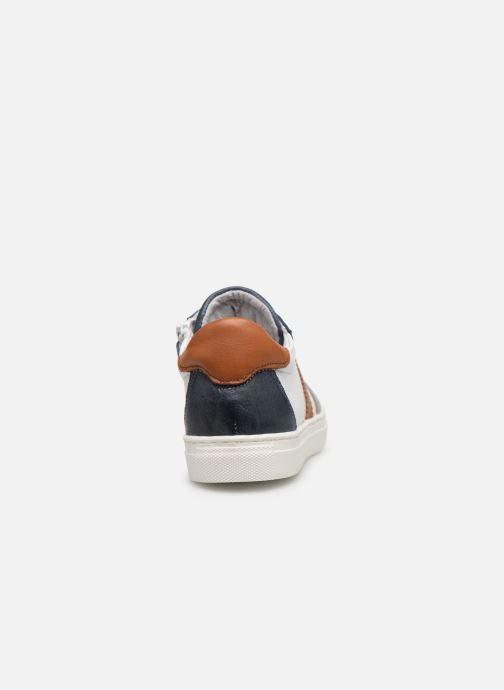Baskets I Love Shoes Solizel Leather Blanc vue droite
