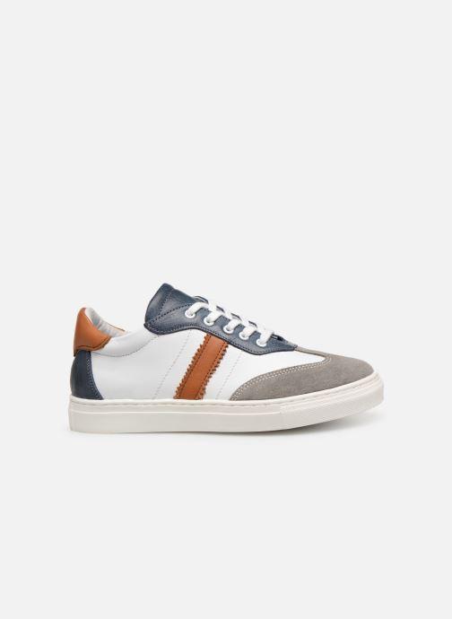 Baskets I Love Shoes Solizel Leather Blanc vue derrière