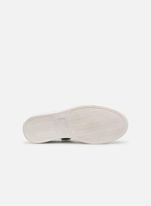 Baskets I Love Shoes Solizel Leather Blanc vue haut