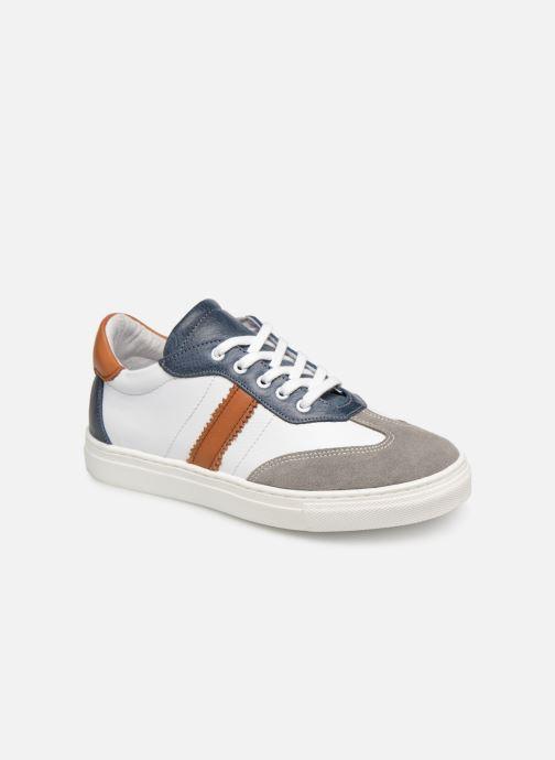 Baskets I Love Shoes Solizel Leather Blanc vue détail/paire
