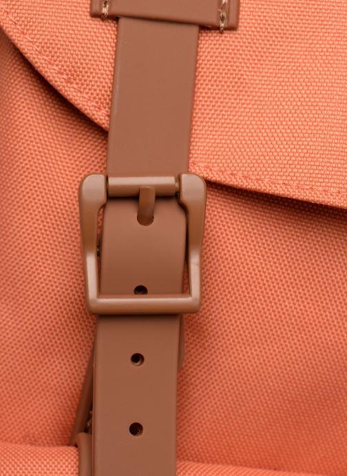 Ryggsäckar Herschel LITTLE AMERICA MID-VOLUME Orange bild från vänster sidan