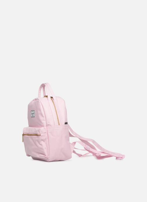 Rucksäcke Herschel NOVA MINI rosa schuhe getragen