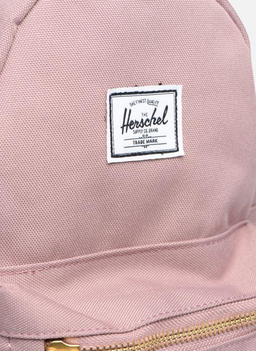Rucksäcke Herschel Nova Mini rosa ansicht von links