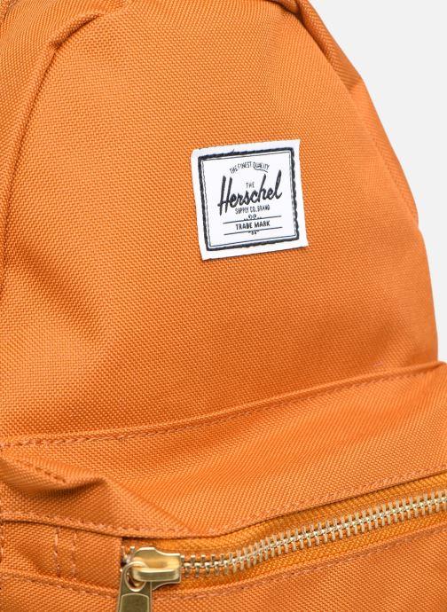 Mochilas Herschel NOVA MINI Naranja vista lateral izquierda