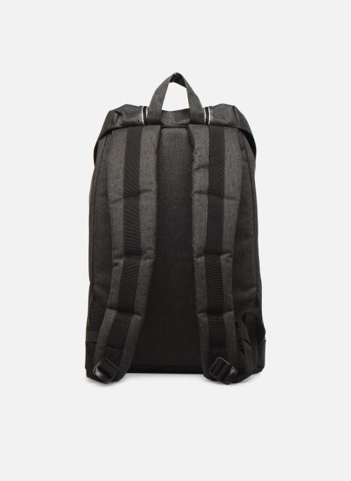 Sacs à dos Herschel RETREAT MID-VOLUME OFFSET Noir vue face