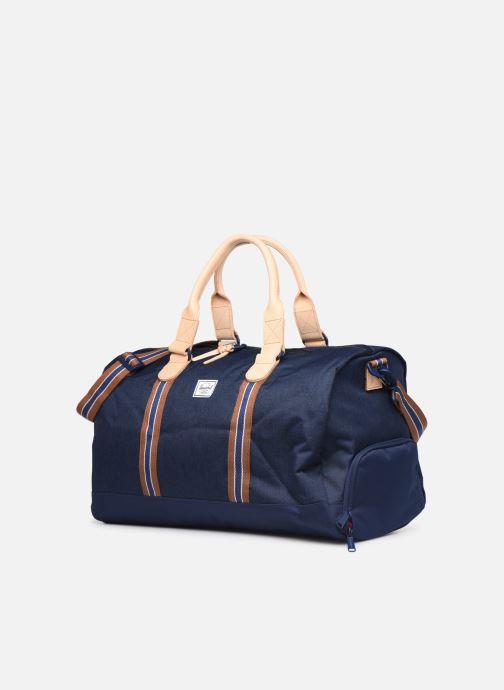 Sports bags Herschel NOVEL DUFFLE OFFSET Blue model view