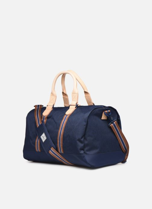 Sports bags Herschel NOVEL DUFFLE OFFSET Blue view from the right