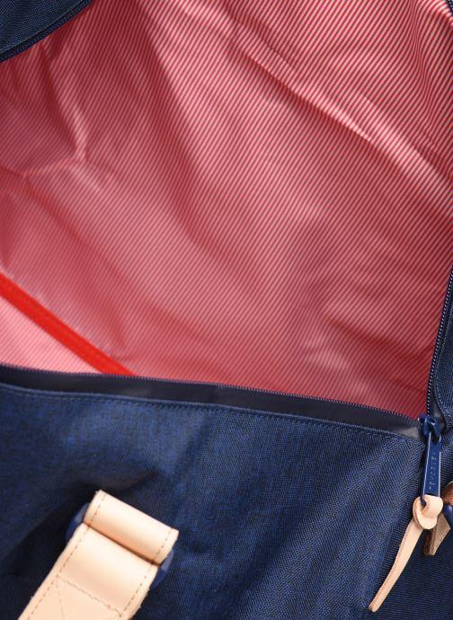 Sacs de sport Herschel NOVEL DUFFLE OFFSET Bleu vue derrière