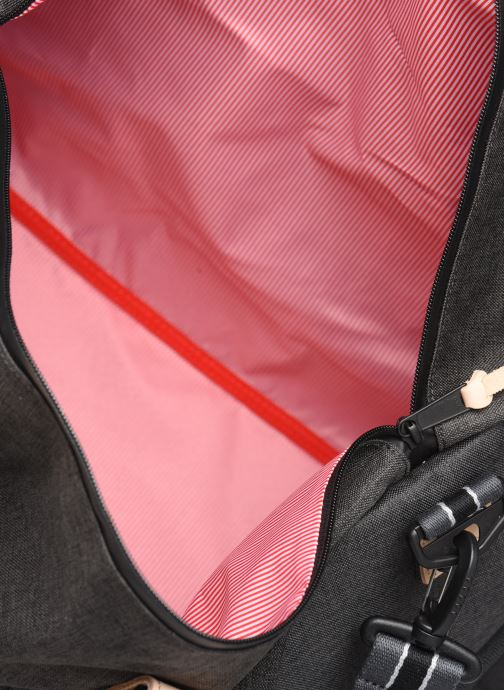 Sporttassen Herschel NOVEL DUFFLE OFFSET Zwart achterkant