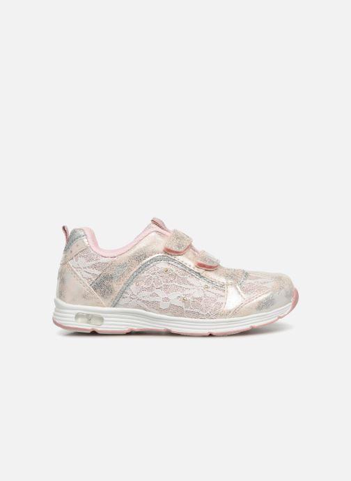 Chaussures de sport LICO Rose V Blinky Argent vue derrière