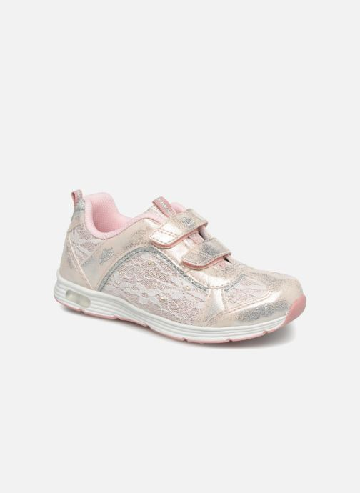 Chaussures de sport LICO Rose V Blinky Argent vue détail/paire