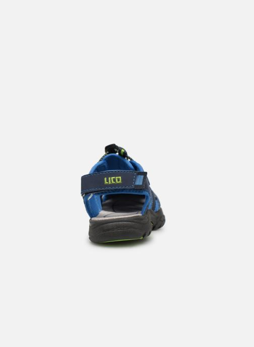 Zapatillas de deporte Lico Nimbo Azul vista lateral derecha