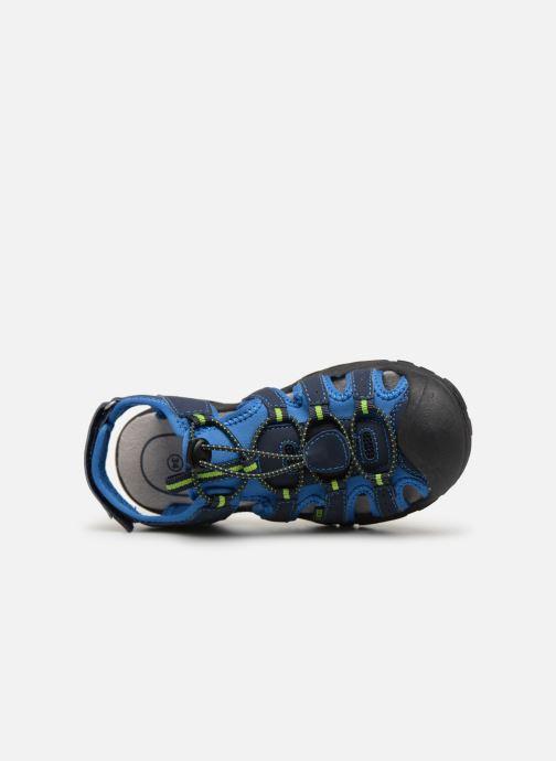 Zapatillas de deporte LICO Nimbo Azul vista lateral izquierda