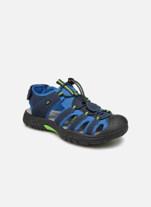 Sport shoes LICO Nimbo Blue detailed view/ Pair view