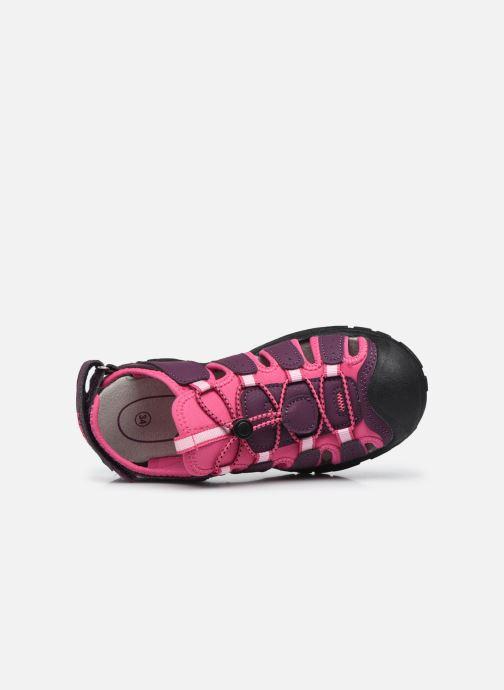 Scarpe sportive Lico Nimbo Bordò immagine sinistra