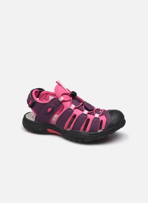Chaussures de sport Lico Nimbo Bordeaux vue détail/paire