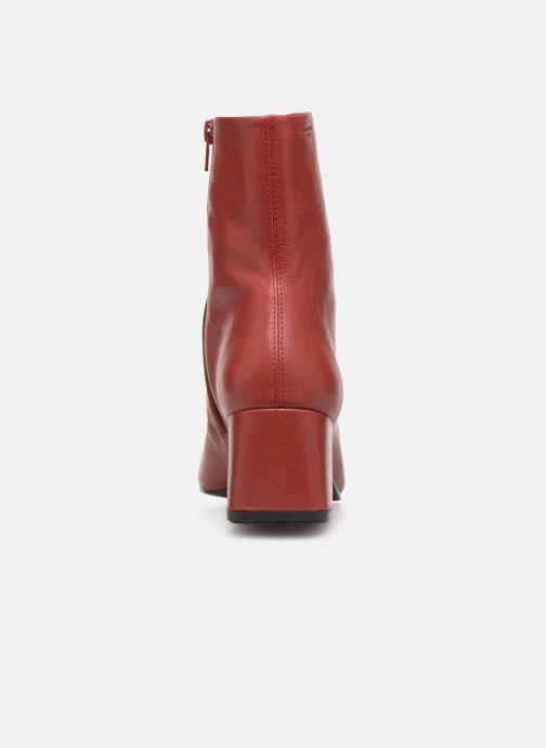 Botines  Vagabond Shoemakers Alice 4516-001 Rojo vista lateral derecha