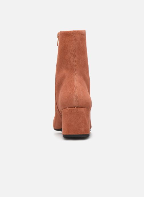 Bottines et boots Vagabond Shoemakers Alice 4516-040 Rouge vue droite