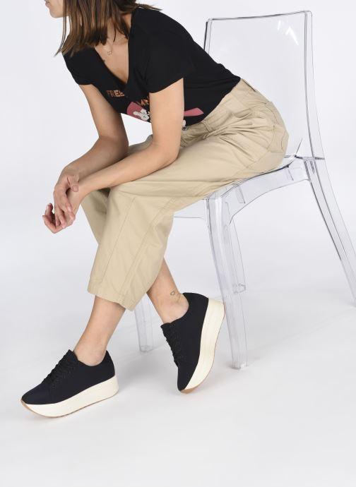 Sneaker Vagabond Shoemakers Casey 4722-280 schwarz ansicht von unten / tasche getragen