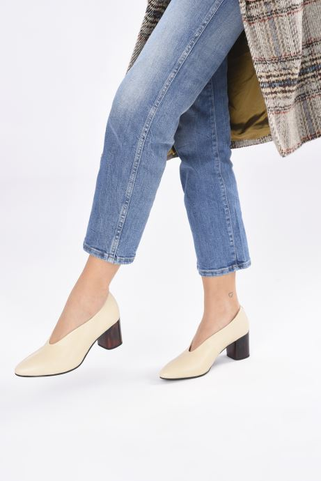 Zapatos de tacón Vagabond Shoemakers Eve 4710-001 Beige vista de abajo