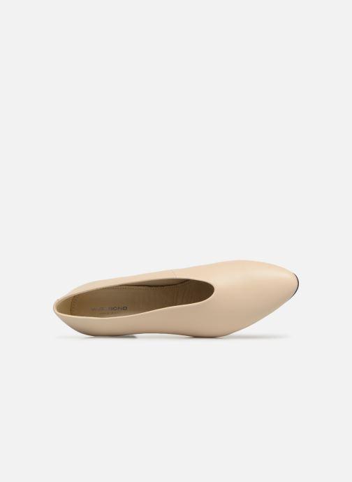 Zapatos de tacón Vagabond Shoemakers Eve 4710-001 Beige vista lateral izquierda
