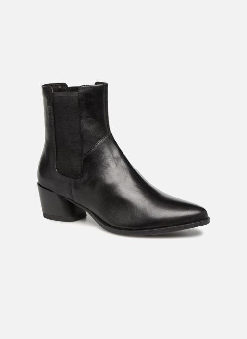 93df16e470b2a0 Ankle boots Vagabond Shoemakers Lara 4713-001 Black detailed view  Pair view