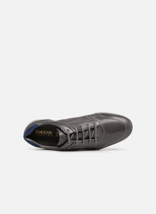 Trainers Geox U SYMBOL A U92A5A Grey view from the left
