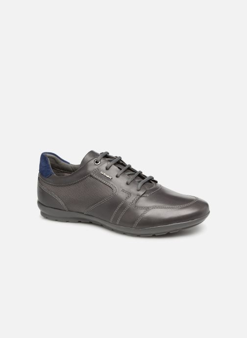 Trainers Geox U SYMBOL A U92A5A Grey detailed view/ Pair view