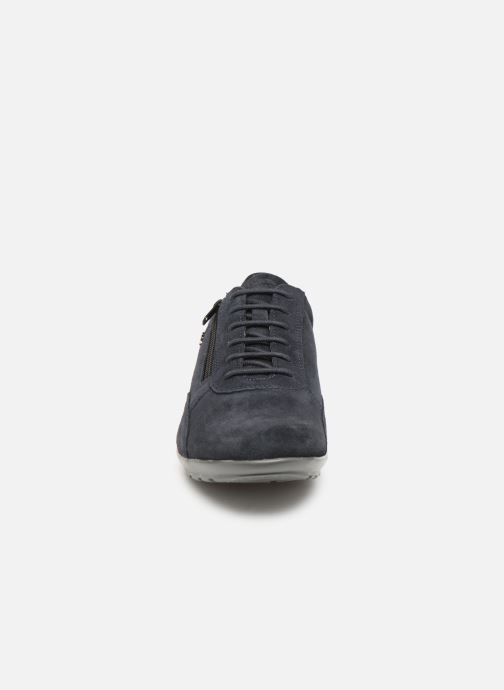 Baskets Geox U SYMBOL U74A5A Bleu vue portées chaussures
