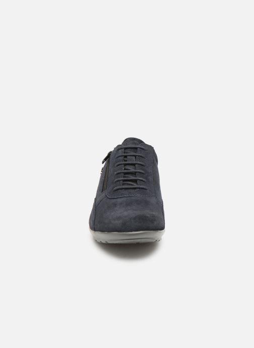 Sneaker Geox U SYMBOL U74A5A blau schuhe getragen