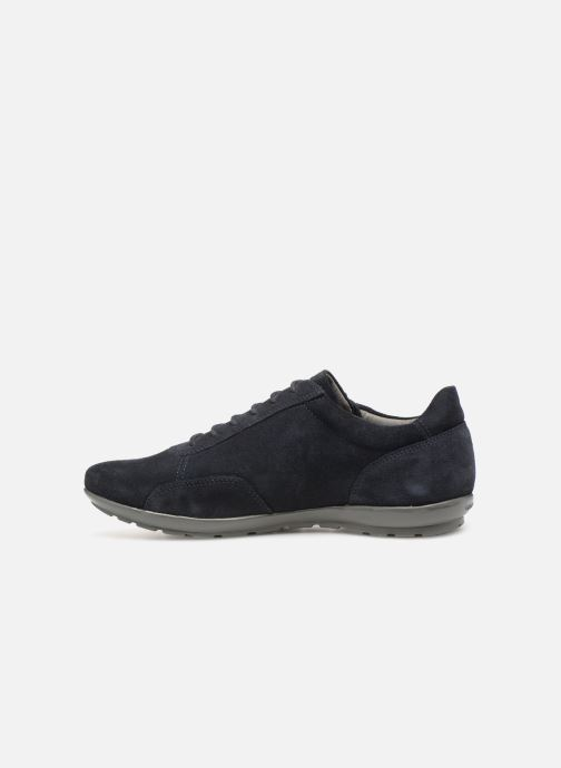 Sneaker Geox U SYMBOL U74A5A blau ansicht von vorne