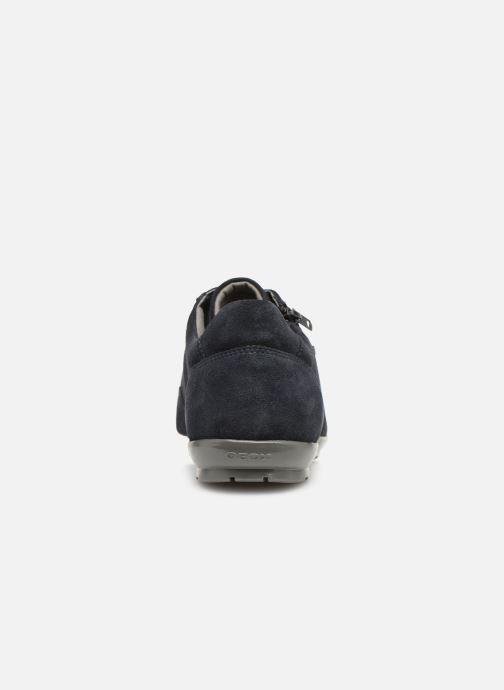 Sneaker Geox U SYMBOL U74A5A blau ansicht von rechts