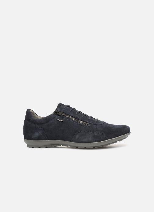 Sneaker Geox U SYMBOL U74A5A blau ansicht von hinten