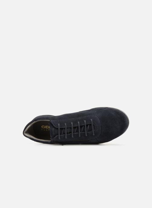 Sneaker Geox U SYMBOL U74A5A blau ansicht von links