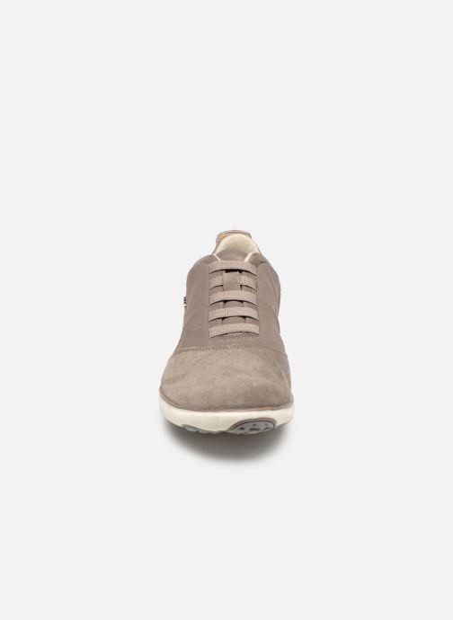 Sneakers Geox U NEBULA  B U52D7B Beige bild av skorna på