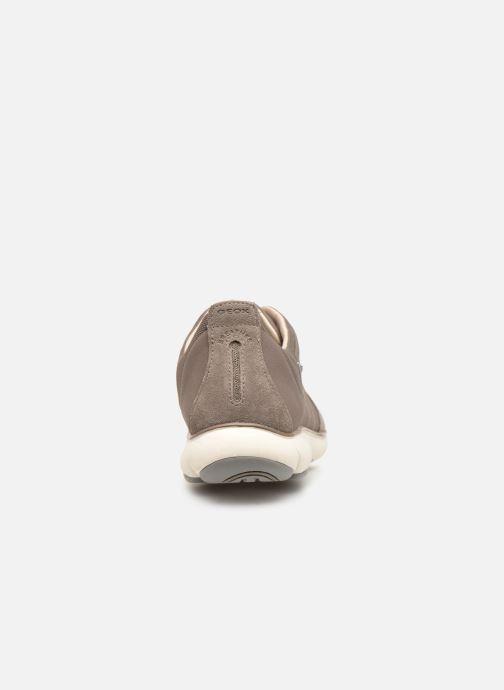 Sneakers Geox U NEBULA  B U52D7B Beige Bild från höger sidan