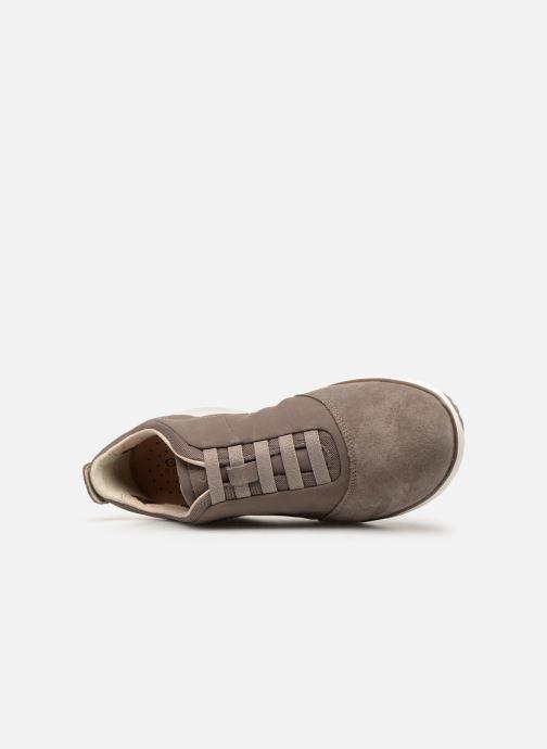 Sneakers Geox U NEBULA  B U52D7B Beige bild från vänster sidan
