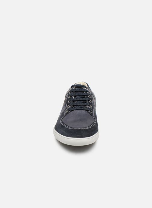 Baskets Geox U KRISTOF B U920EB Bleu vue portées chaussures