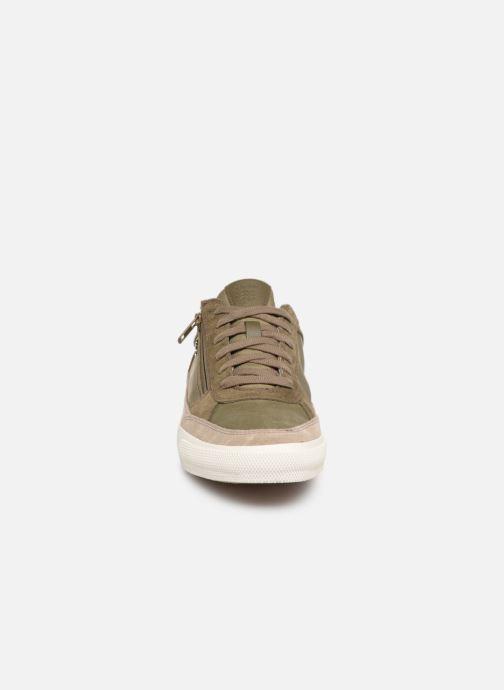 Baskets Geox U KAVEN C U926MC Vert vue portées chaussures