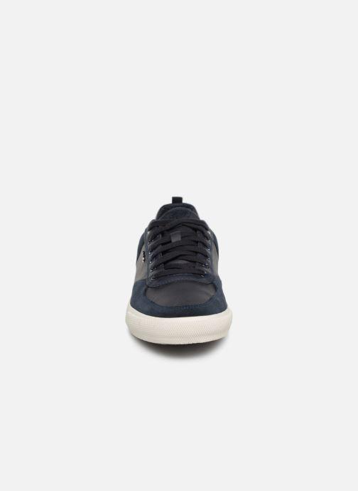 Baskets Geox U KAVEN A U926MA Bleu vue portées chaussures