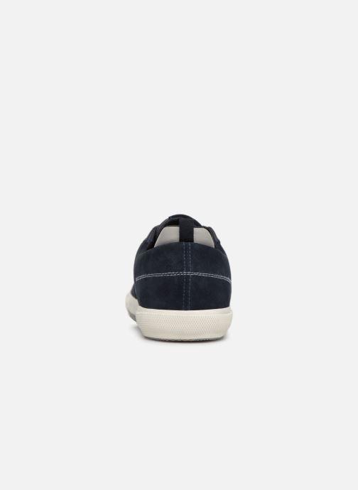 Sneaker Geox U KAVEN A U926MA blau ansicht von rechts