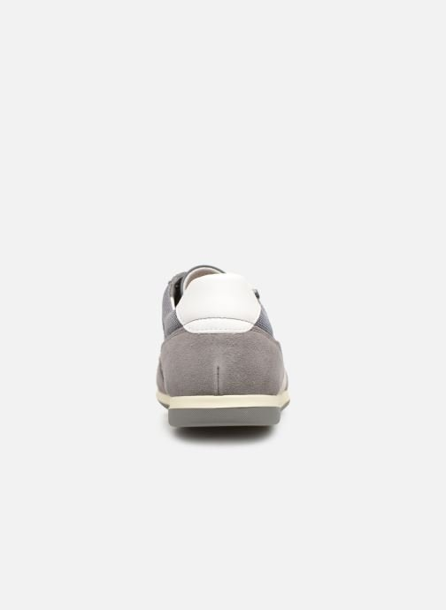 Trainers Geox U RENAN C U924GC Grey view from the right