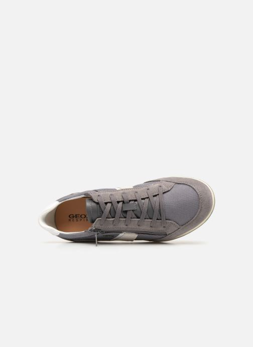 Trainers Geox U RENAN C U924GC Grey view from the left
