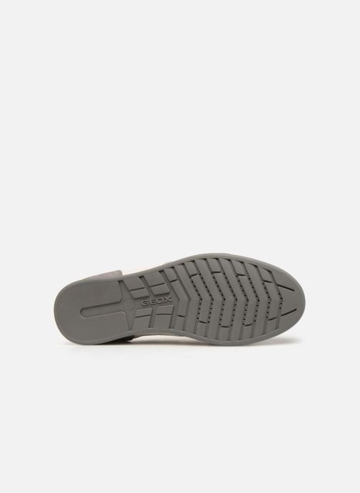 Trainers Geox U RENAN C U924GC Grey view from above