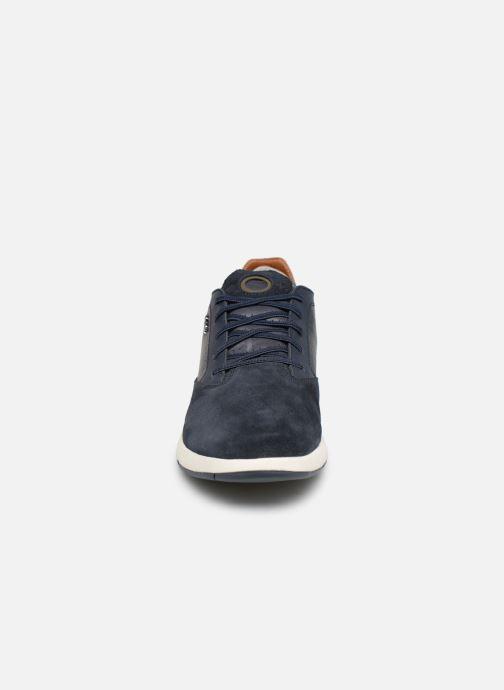 Sneaker Geox U AERANTIS A U927FA blau schuhe getragen